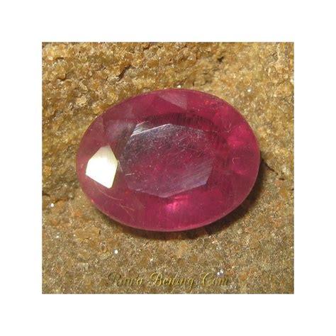 batu kalsedon orange oval cut diskon batu permata safir orange oval cut sedang 5