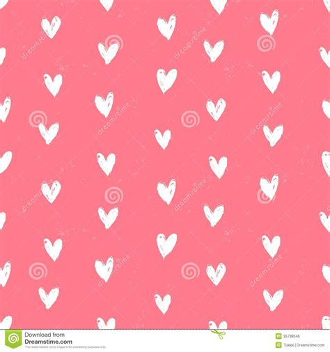 paper valentines velentine s day pattern with painted hearts stock