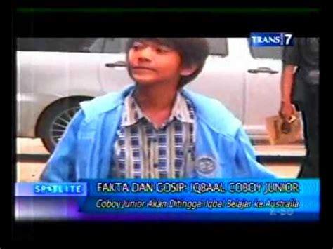foto iqbal cjr bersama fay nabila iqbal coboy junior fakta berita terbaru