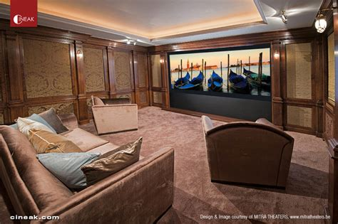 cineak custom home theater seats traditional home