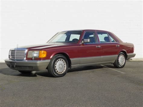 how does cars work 1986 mercedes benz s class auto manual 1986 mercedes benz 560sel sedan for sale mercedes benz 500 series 1986 for sale in tustin