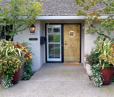 Japanese Exterior Doors Faux Painted Asian Style Entry Door Asian Asian Front Doors Portland By Johanna