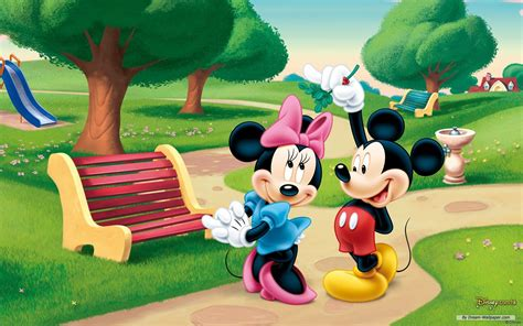 themes line mickey mouse free wallpaper free cartoon wallpaper disney theme 4
