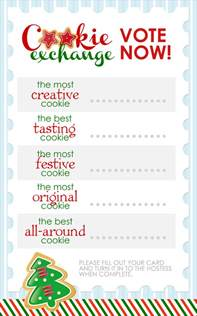 Ugly Christmas Sweater Party Invite - cookie exchange party free printables how to nest for less