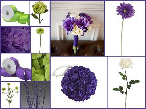 Regency Purple Wedding Decorations by Green Afloral Wedding