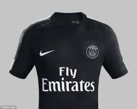 Jersey Manchester City 3rd 1617 Go Neymar Unveil Psg New Third Kit On Top Of Parc Des Princes