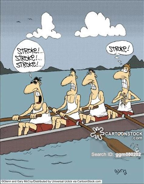 rowing boat puns rowing cartoons and comics funny pictures from cartoonstock