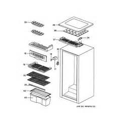 Kitchenaid Refrigerator Parts Maker General Electric Refrigerator Wiring Diagram