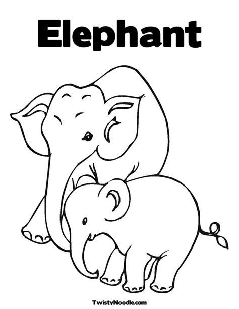 elmer the elephant coloring sheet coloring pages