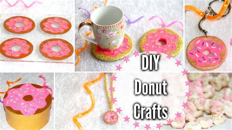 Girls Room Decor by Diy Donut Crafts Room Decor Keychain Snack More Youtube