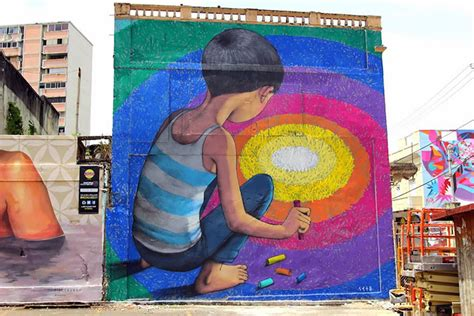 street artist transforms boring buildings   world