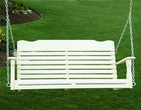 Poly Porch Swings On Sale Jbeedesigns Outdoor Polywood