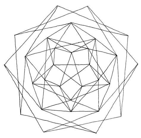 figuras geometricas unidas dibujos geom 233 tricos para colorear e imprimir gratis foto