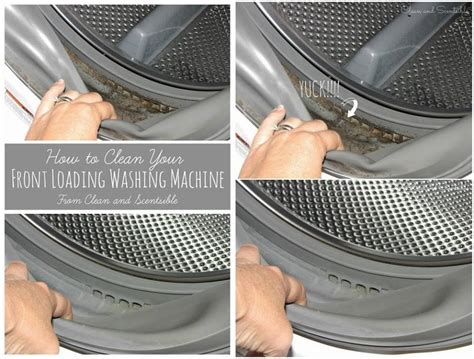 how to clean how to clean front loader washing machine www fabartdiy