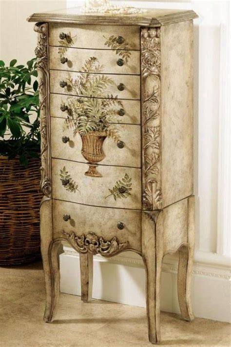 painted armoire jewelry armoires