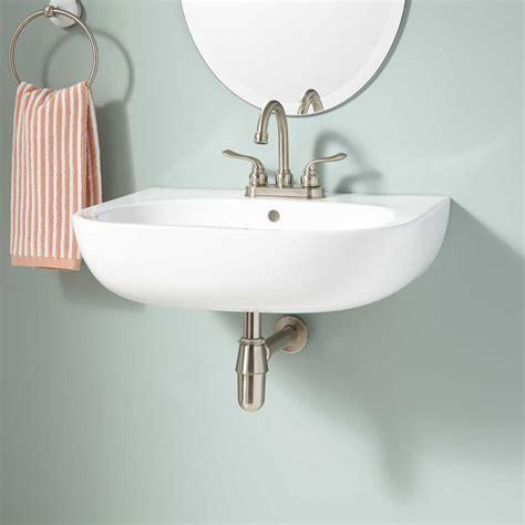 Restroom Sinks by Bovina Wall Mount Bathroom Sink Bathroom