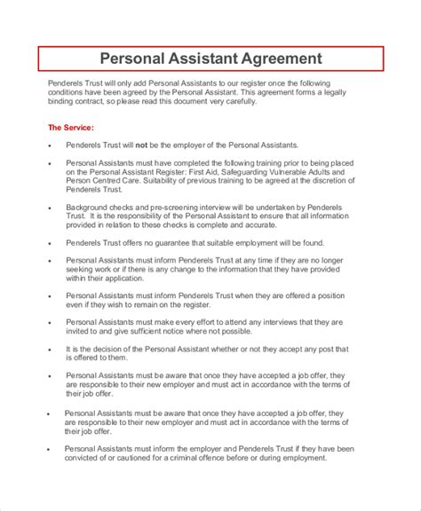 personal agreement template sle personal confidentiality agreement 7 documents