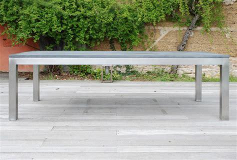 Table Beton Cire Exterieur 3584 by Table En Beton D Exterieur Pour Jardin Et Terrasse En