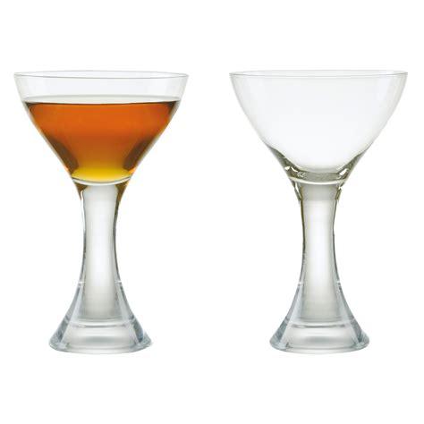 manhattan glasses barware set of 2 manhattan cocktail glasses anton studio designs