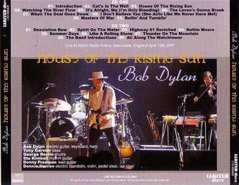 bob dylan house of the rising sun bob dylan house of the rising sun 2cdr giginjapan