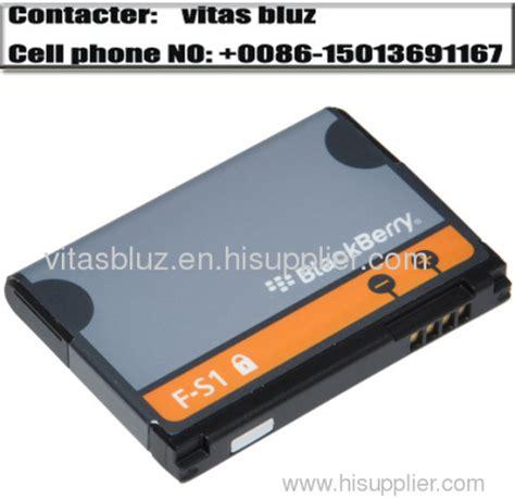 Baterai F S1 for blackberry battery for blackberry f s1 battery for