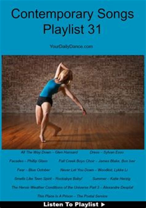 songs to do contemporary to of contemporary dancers photography