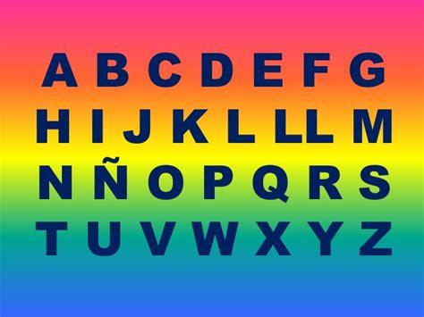 el abecedario el abecedario