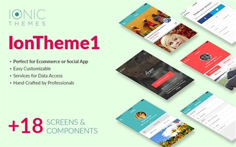 Theme 1 Premium Social Ecommerce Ionic Template Ionicthemes Live Preview Ionic Ecommerce Template Free