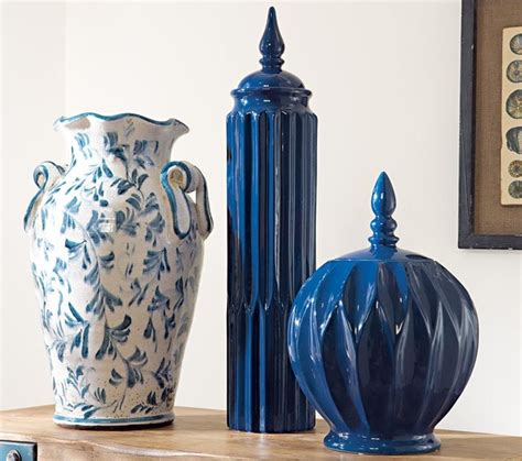 Navy Vase by Navy Jars Modern Vases