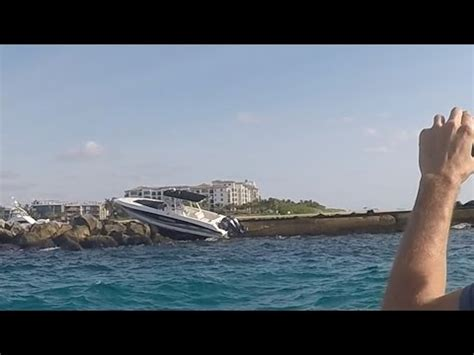 boat crash jupiter boat accident palm beach inlet youtube