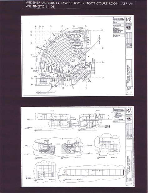 mock courtroom floor plan h2l2 built widener school moot court