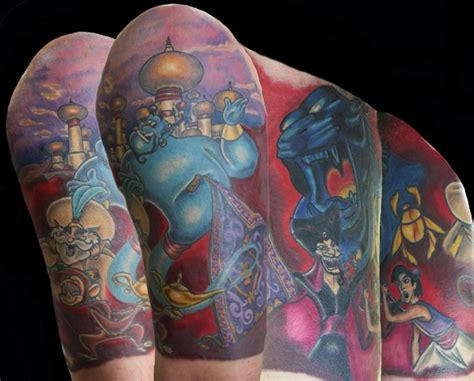 aladdin tattoo the world s catalog of ideas