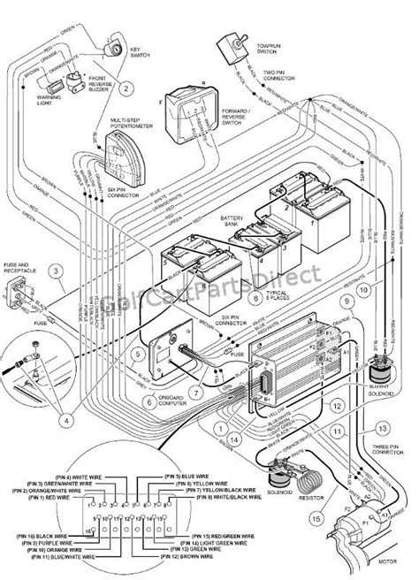 western golf car wiring diagram golf free