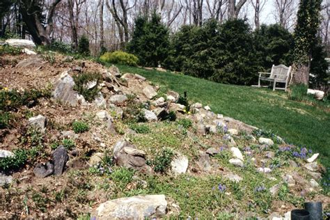 gardens with rocks make a rock garden