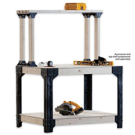 2x4 bench kit 2x4 basics workbench legs building kit chkadels com