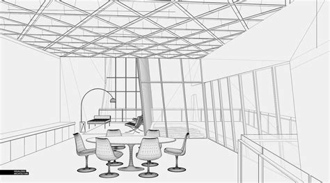 sketchup layout hidden lines cliff retreat interiors visualizing architecture