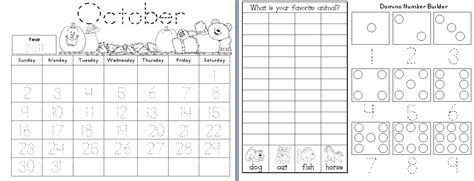 printable kindergarten calendar worksheets 9 best images of kindergarten printable calendar month by