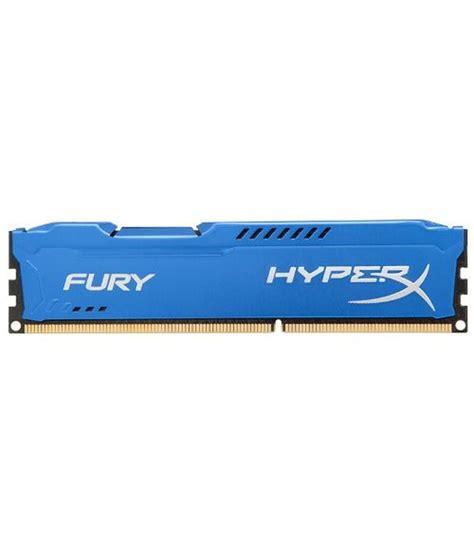 kingston hyper ram kingston 4gb hyperx fury 1866mhz desktop ram blue price