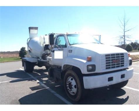 gmc cement truck images