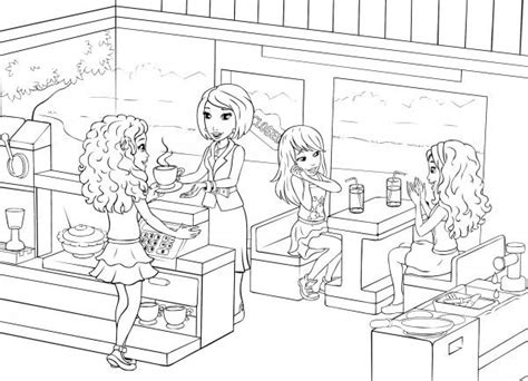 coloring pages lego friends lego friends coloring kleurplaten coloring