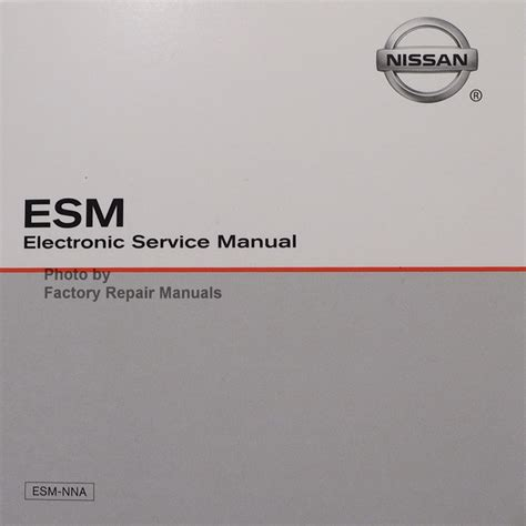 nissan frontier factory service manual 2016 nissan frontier factory service manual cd rom