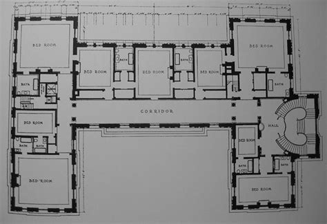 Rosecliff Floor Plan | rosecliff mansion second floor gilded era mansion floor