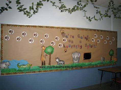 board themed decorations safari themed bulletin board ideas bulletin board ideas