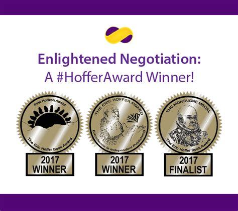 Enlightened Negotiationa enlightened negotiation 174 enlightened negotiation wins national and international awards