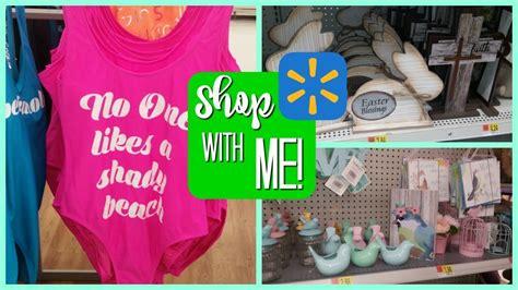 Walmart Mba Summer Intern 2018 walmart shop with me new easter summer items 2018