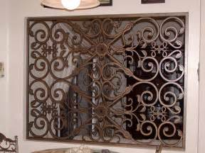faux wrought iron room divider flickr photo