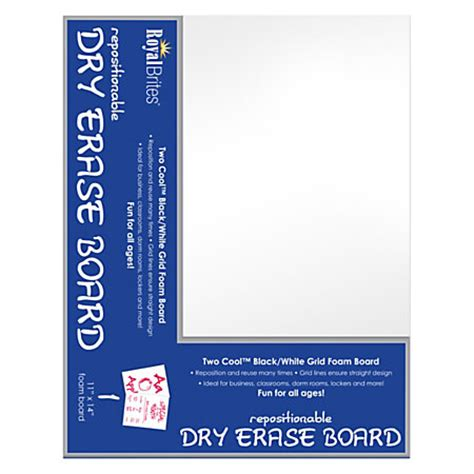 White Board Sponge Cleanerpink10x15 2 royal brites 2 cool foam board erase 11 x 14 blackwhite by office depot officemax