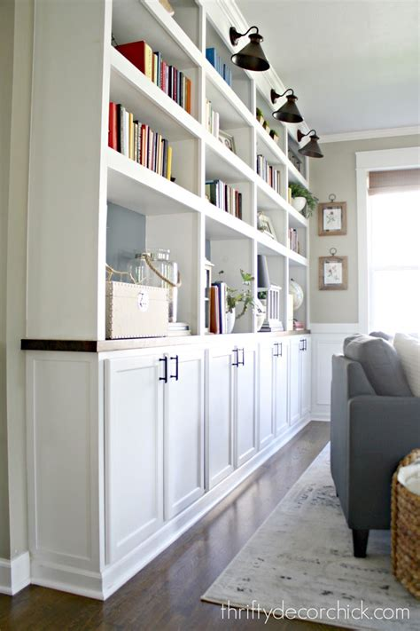 built in kitchen cabinets diy how to create custom built ins with kitchen cabinets