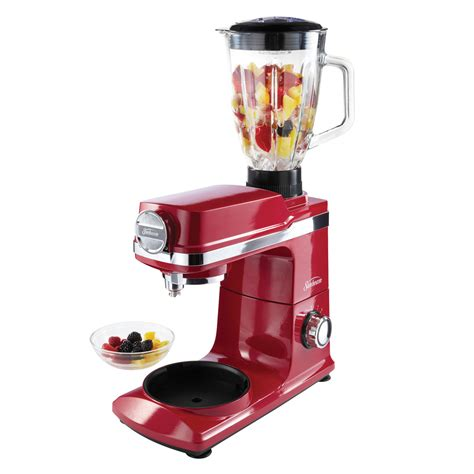 sunbeam kitchen appliances sunbeam 174 mixmaster 174 planetary stand mixer red fpsbsm3481r