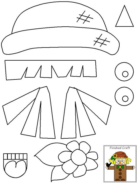 scarecrow pattern for kindergarten 1000 images about scarecrow theme on pinterest fall